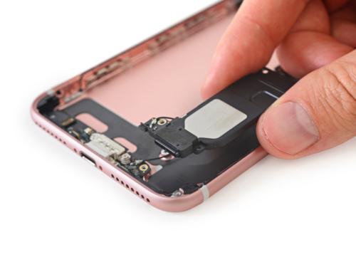 Phone 7 Plus Alsó hangszóró csere - (egy órán belül) - SPACE - Apple Szerviz